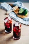 red wine sprizters // brooklyn supper