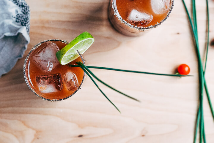 bloody maria cocktails // brooklyn supper