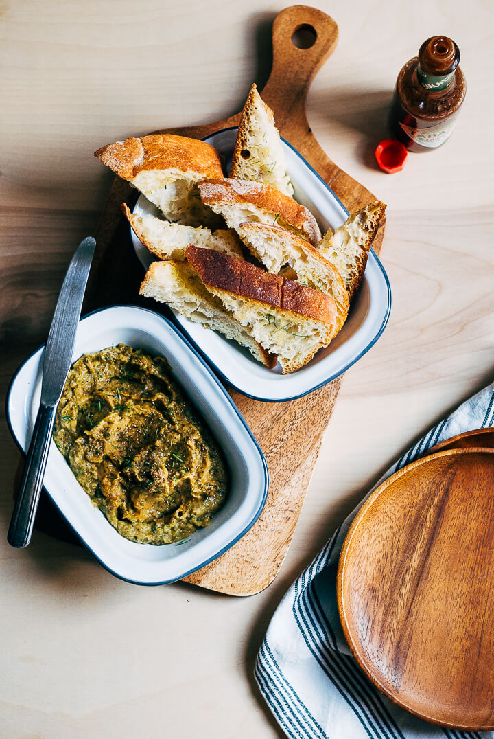 roasted zucchini and fennel dip // brooklyn supper