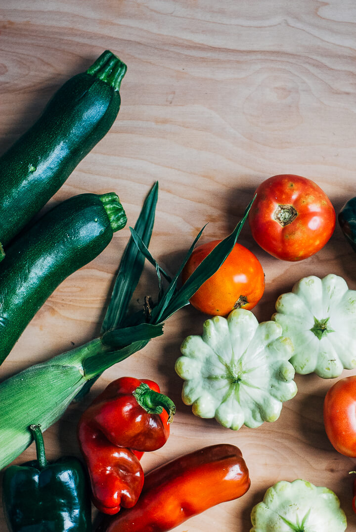 summer produce guide: what to eat right now (late august) // brooklyn supper