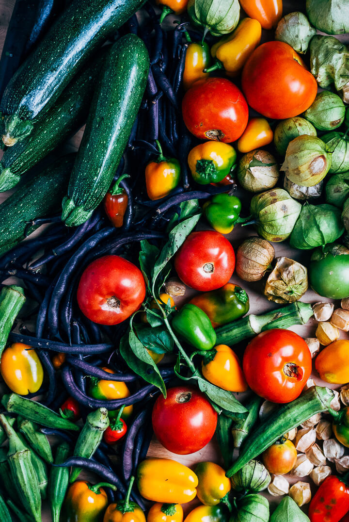 summer produce guide: what to eat right now (end of august) // brooklyn supper