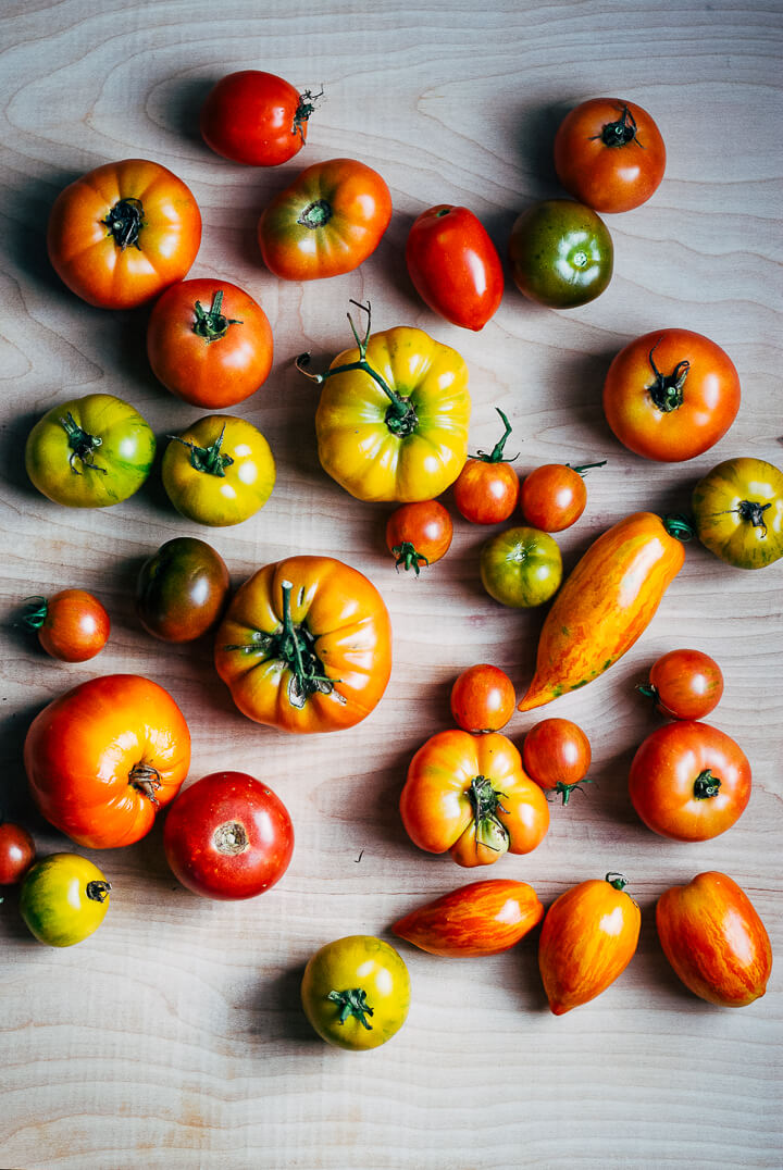 summer produce guide: what to eat right now (early august) // brooklyn supper