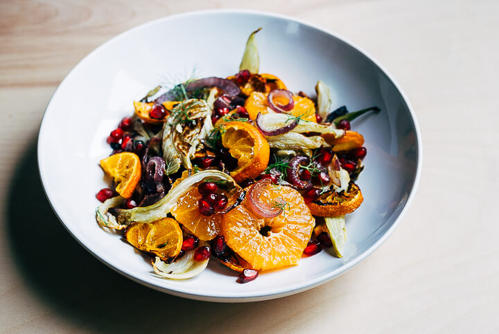 roasted fennel and satsuma orange salad // brooklyn supper