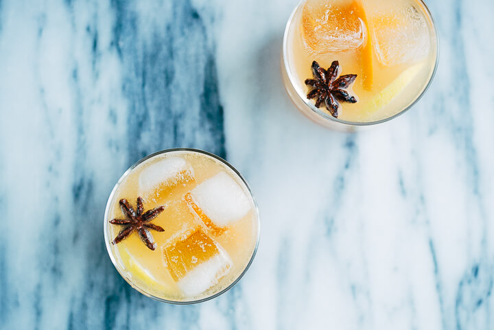 persimmon collins cocktails // brooklyn supper