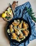 cast iron skillet chicken // brooklyn supper