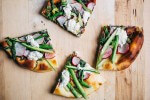 radish and asparagus flatbreads with ricotta // brooklyn supper