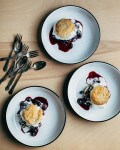 blueberry shortcake with sourdough biscuits // brooklyn supper