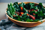 strawberry spinach salad with bacon // brooklyn supper