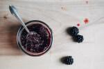 blackberry verbena jam + oat cluster sundaes // brooklyn supper