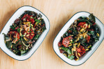 blood orange, rainbow chard and wild rice salad // brooklyn supper