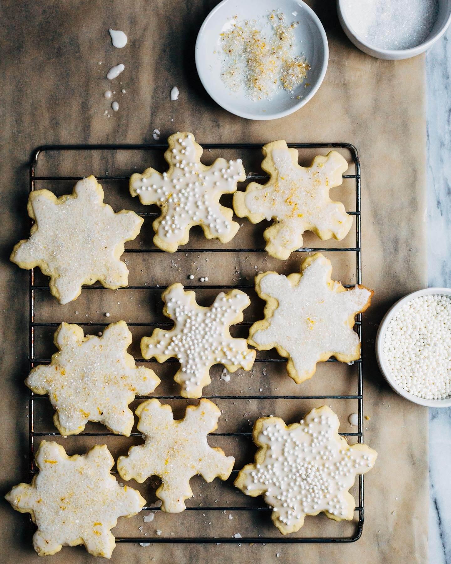 Cardamom Orange Sugar Cookies