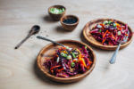 kumquat and red cabbage pressed salad // brooklyn supper