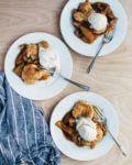 spelt crust apple pandowdy // brooklyn supper