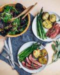 grilled merlot steak with sage butter // brooklyn supper