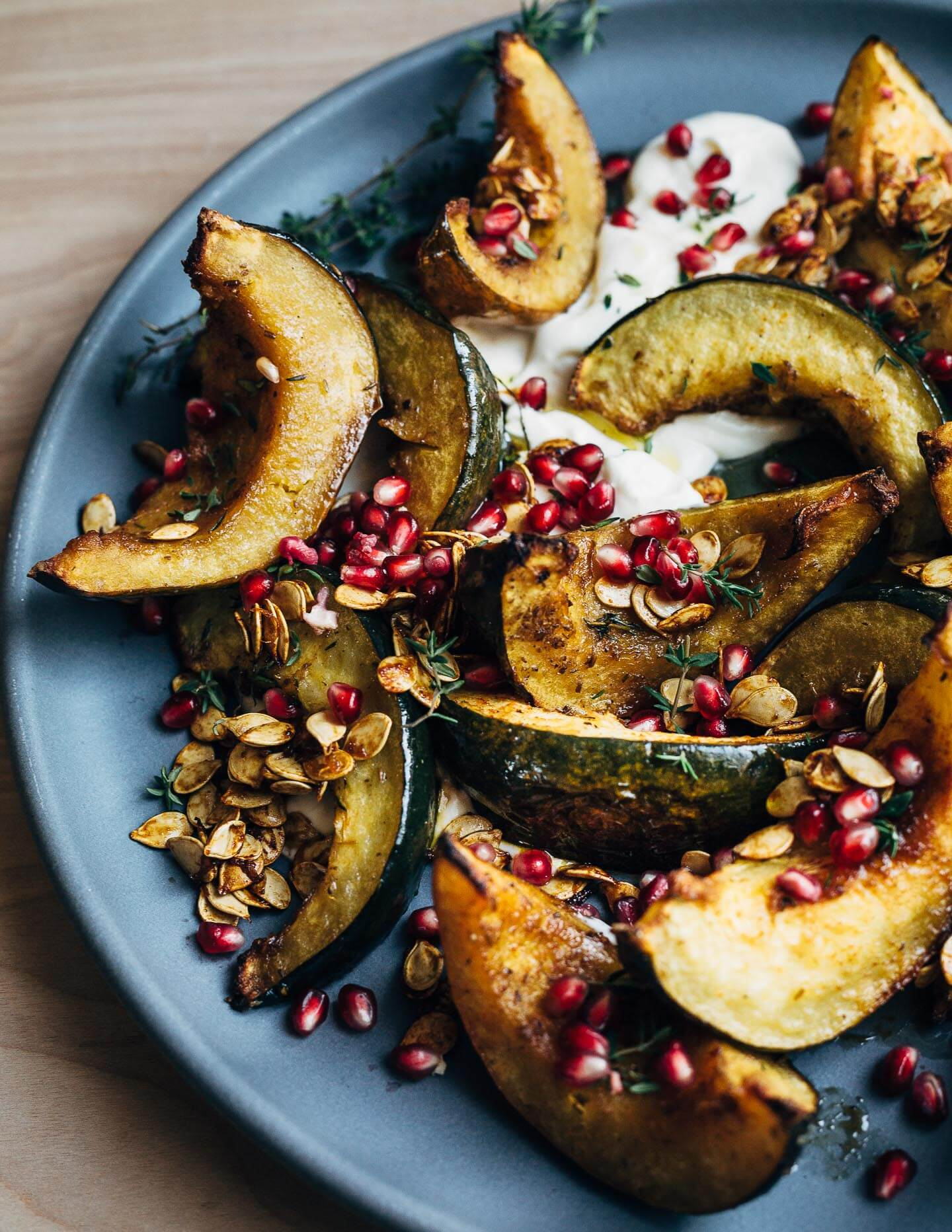 Brown Sugar Roasted Acorn Squash Wedges Brooklyn Supper